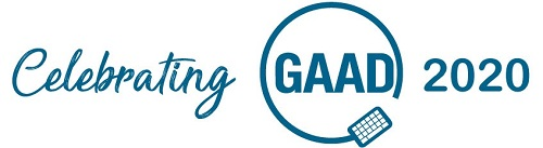 celebrating -gaad-2020 Logo