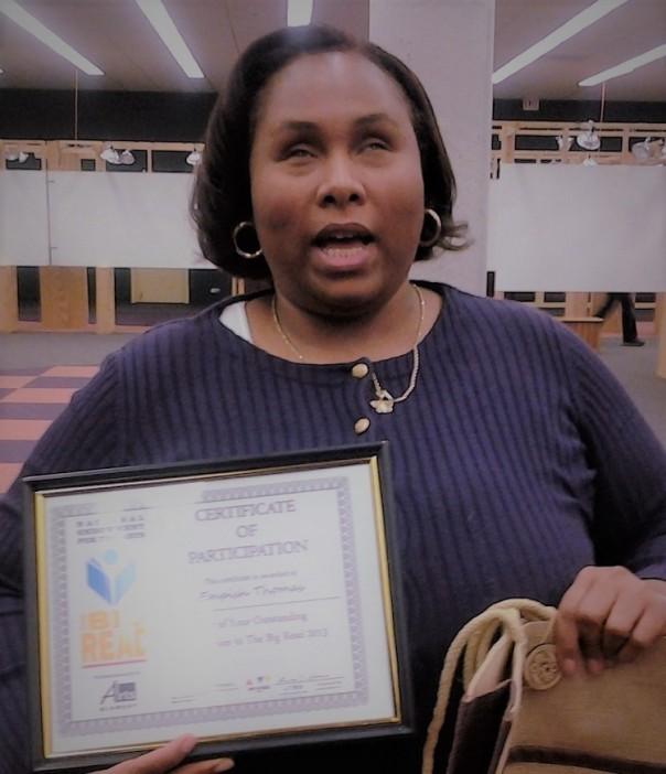 Empish Receives certificate for Hosting Big Read Program